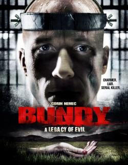 Movie poster BUNDY:  A LEGACY OF EVIL