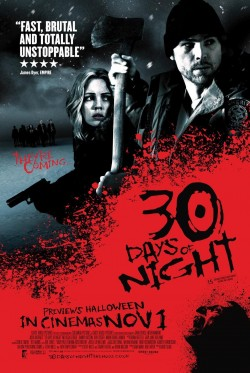 Movie poster 30 DAYS OF NIGHT