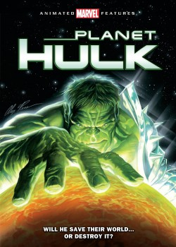 Movie poster MARVEL:  PLANET HULK