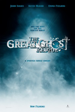 Movie poster GREAT GHOST RESCUE