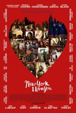 Movie poster NEW YORK, I LOVE YOU