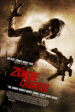 Movie poster ZOMBIE DIARIES