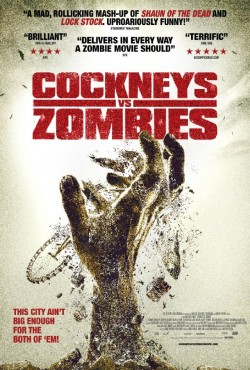 Movie poster COCKNEYS VS. ZOMBIES
