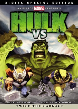 Movie poster MARVEL:  HULK VERSUS