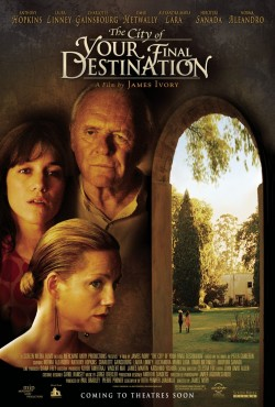 Movie poster CITY OF YOUR FINAL DESTINATION
