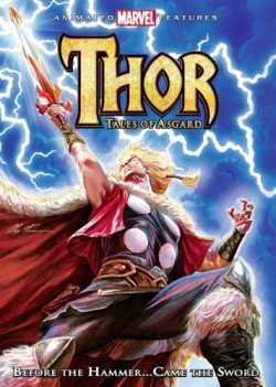 Movie poster MARVEL:  THOR - TALES OF ASGARD