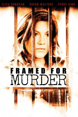 Movie poster FRAMED FOR MURDER