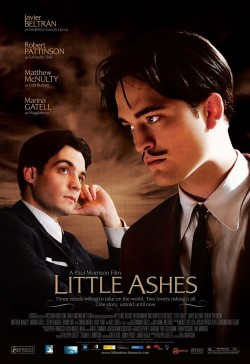 Movie poster LITTLE ASHES