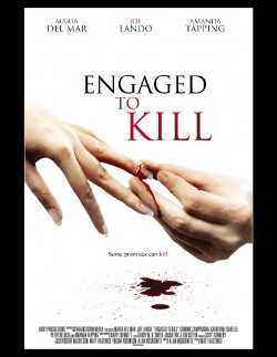 Movie poster ENGAGED TO KILL