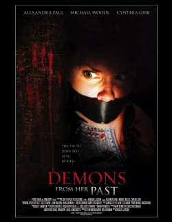 Movie poster DEMONS FROM HER PAST