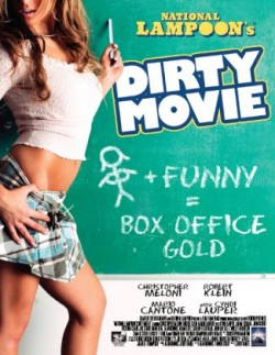 Movie poster DIRTY MOVIE