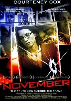 Movie poster NOVEMBER
