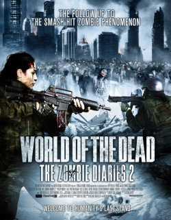 Movie poster WORLD OF THE DEAD:  ZOMBIE DIARIES 2