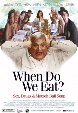 Movie poster WHEN DO WE EAT?