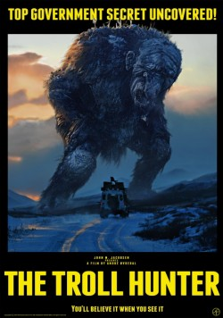 Movie poster TROLL HUNTER