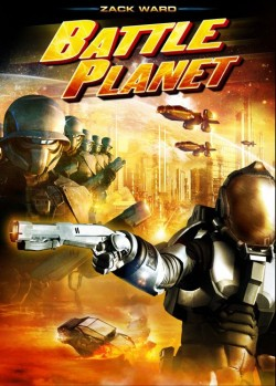 Movie poster BATTLE PLANET