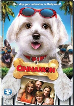 Movie poster MY DOG CINNAMON