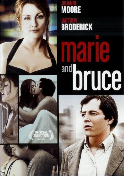 Movie poster MARIE & BRUCE