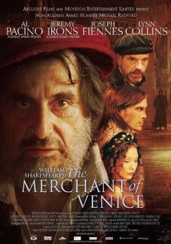 Movie poster MERCHANT OF VENICE