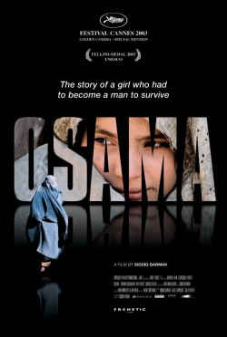 Movie poster OSAMA