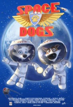 Movie poster SPACE DOGS 3D