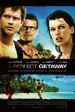 Movie poster A PERFECT GETAWAY