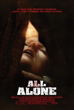 Movie poster ALL ALONE