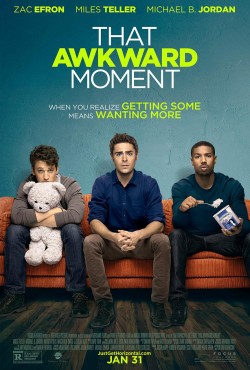 Movie poster THAT AWKWARD MOMENT