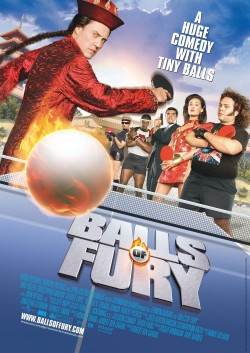 Movie poster BALLS OF FURY