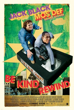 Movie poster BE KIND REWIND