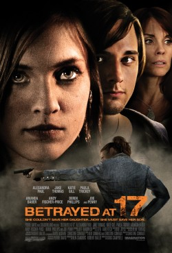 Movie poster BETRAYED AT 17