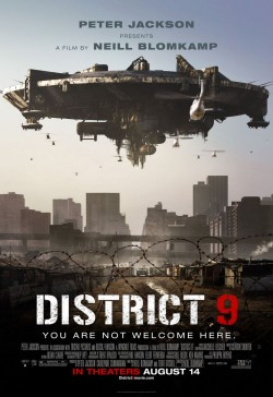 Movie poster DISTRICT 9