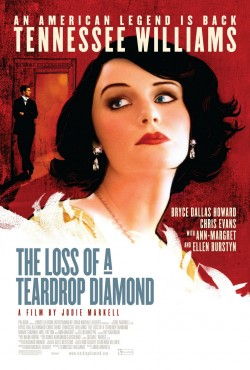 Movie poster LOSS OF A TEARDROP DIAMOND
