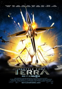 Movie poster BATTLE FOR TERRA 3D