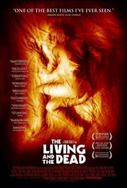 Movie poster LIVING AND THE DEAD