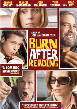 Movie poster BURN AFTER READING