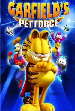 Movie poster GARFIELD'S PET FORCE 3D