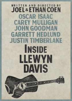 Movie poster INSIDE LLEWYN DAVIS