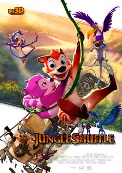 Movie poster JUNGLE SHUFFLE