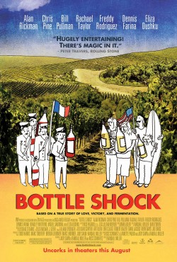 Movie poster BOTTLE SHOCK