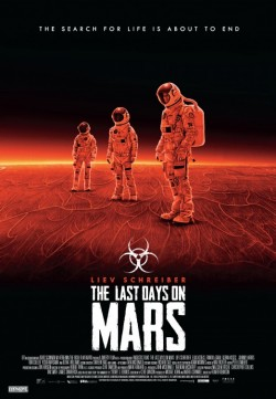 Movie poster LAST DAYS ON MARS