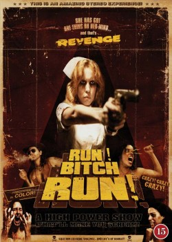 Movie poster RUN! BITCH RUN!