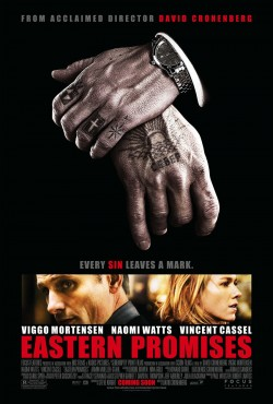 Movie poster EASTERN PROMISES