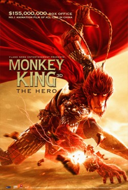 Movie poster MONKEY KING - THE HERO
