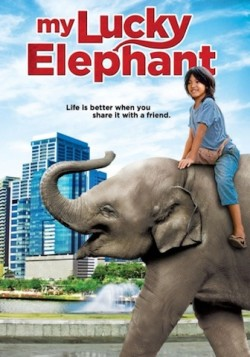 Movie poster MY LUCKY ELEPHANT
