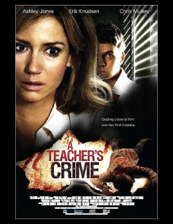Movie poster TEACHER'S CRIME