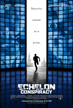 Movie poster ECHELON CONSPIRACY