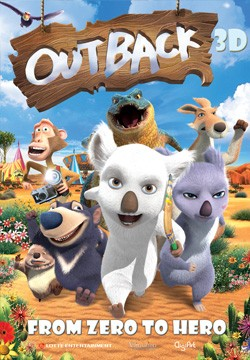 Movie poster OUTBACK 3D