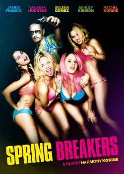 Movie poster SPRING BREAKERS
