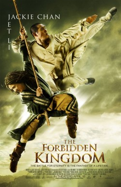 Movie poster FORBIDDEN KINGDOM